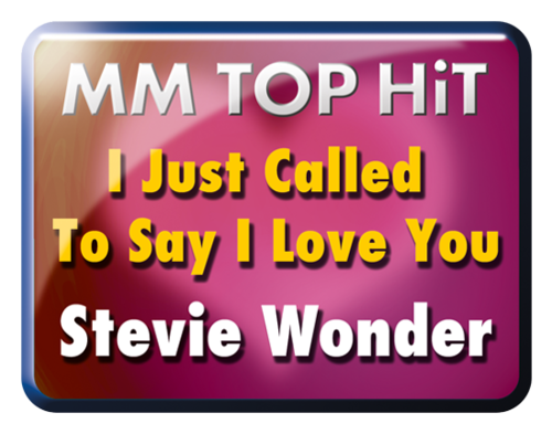 "Stevie Wonder ""I just call to say I love you"""
